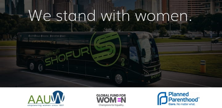 shofur stands with women in support of the women's march on washington