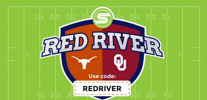 Red River discount code banner