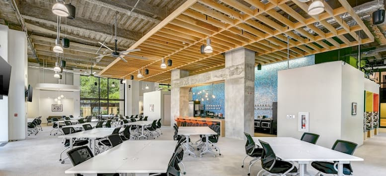 Tech Space's coworking space in austin tx