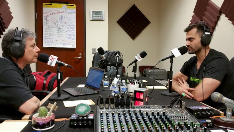 Armir Harris, CEO of Shofur, sits down for a radio interview