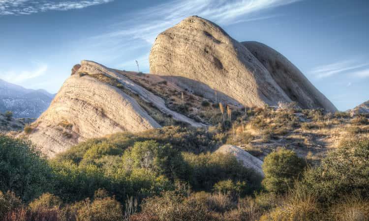 Mormon Rocks in the San Bernardino Mountains