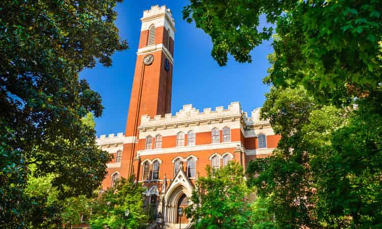 A campus building at Vanderbilt Univesity