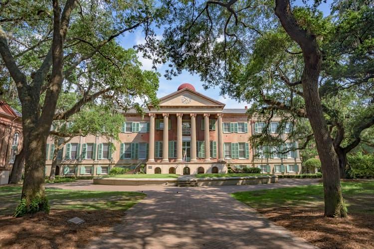 College of Charleston main academic building