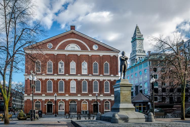 Faneuil Hall Marketplace, Boston, Massachusetts