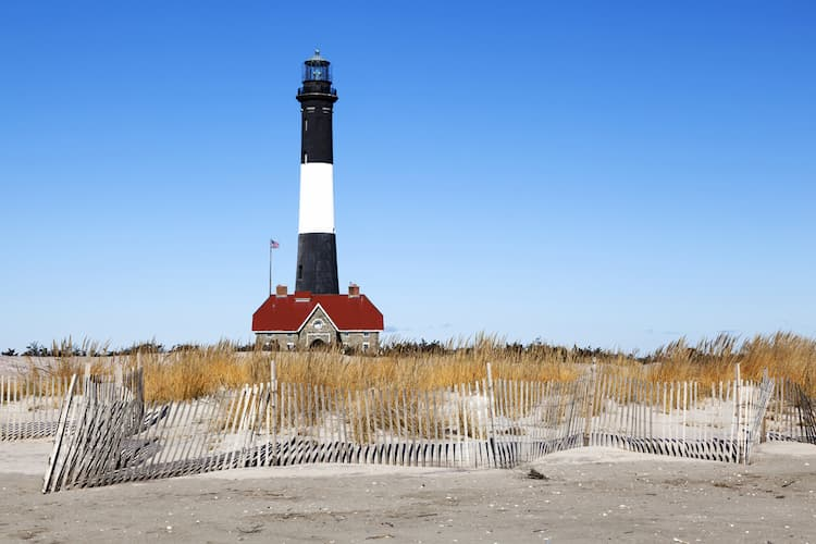 Lighthouse on Fire Island