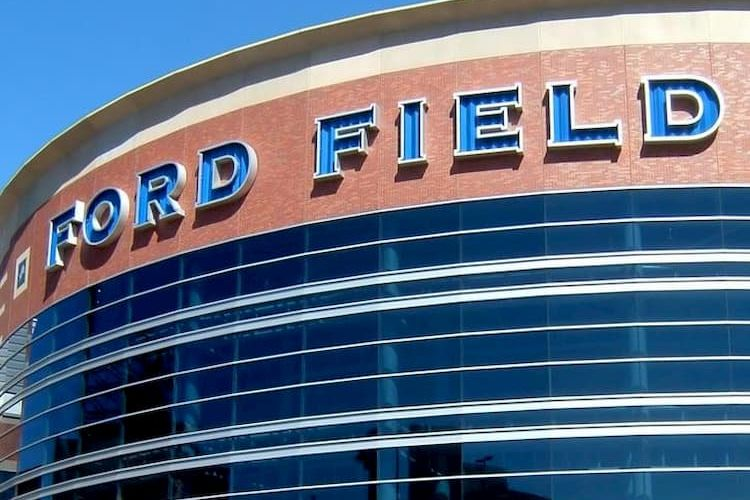 Exterior of Ford Field
