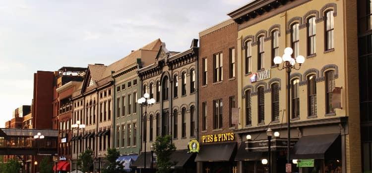 Historic buildings in Lexington Kentucky