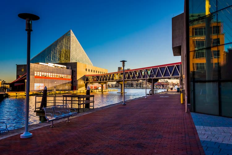 National Aquarium in the Inner Harbor