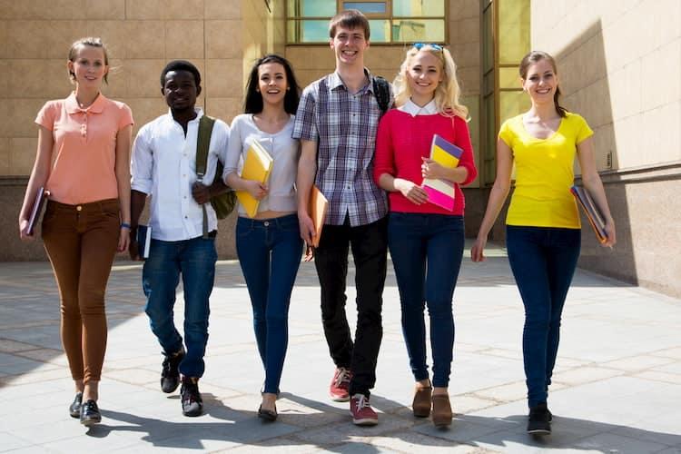 high school students prepare for a college tour in atlanta