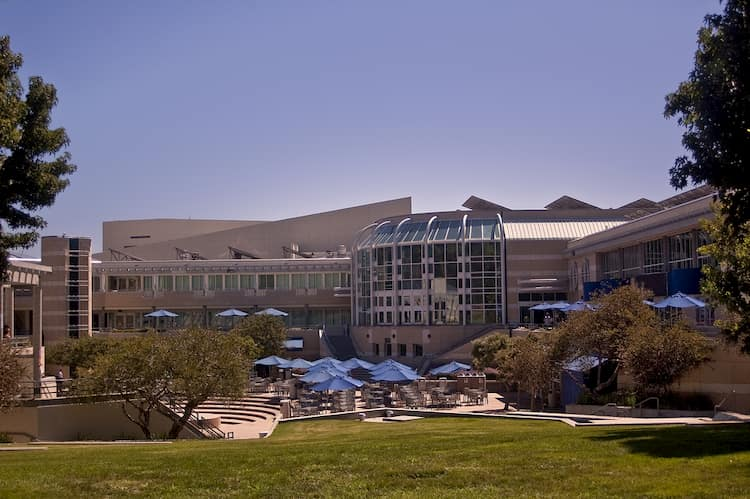 UC San Diego student center